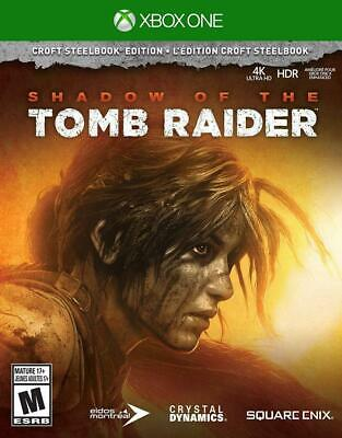 Shadow of the Tomb Raider Croft Steel Book Edition-Xbox One