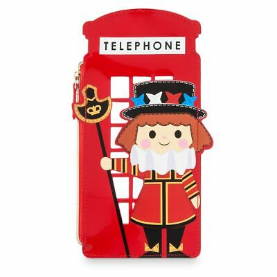 Disney Parks Disney It's a small World Beefeater Zip Case New with Tags