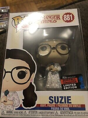 Funko Pop Stranger Things SUZIE! NYCC 2019 Shared Exclusive! New In Hand! #881