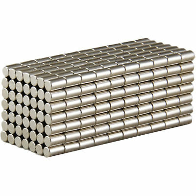 25/50Pcs Super Strong Cylinder Round Magnets 5 x 10mm Rare Earth Neodymium N52