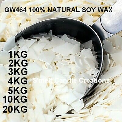 Professional Grade 100% Natural Soy Wax  Candle Making Supplies Crafts