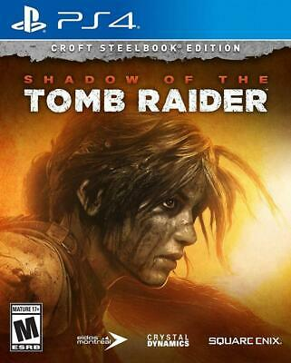Shadow of the Tomb Raider - Croft Steelbook Edition for PlayStation 4