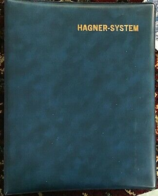 Hagner-System binder with single sided sheets. New.