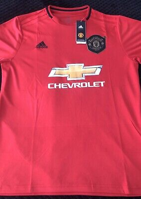 Adidas Manchester United Home Shirt 2019/2020 Red BNWT