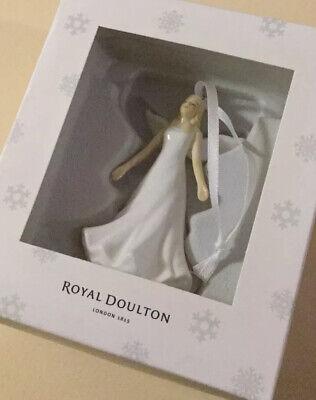 New Royal Doulton Christmas Ornament Angel Hallelujah