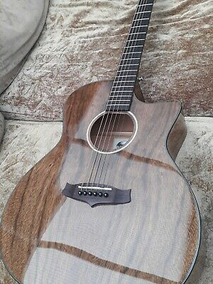 Tanglewood Evolution Exotic TVC X PW Electro Acoustic Guitar with bag