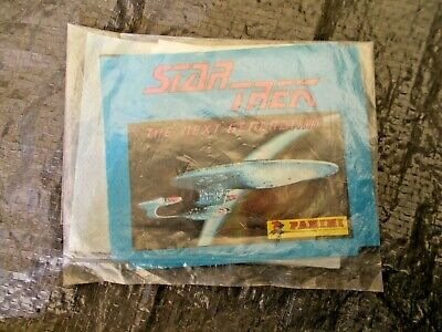 Star Trek Generation Stickers Of Scenes From The Tv Series In Original Packaging