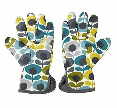 NEW WITH TAGS Orla Kiely potting gloves gardening gloves oval flower pattern