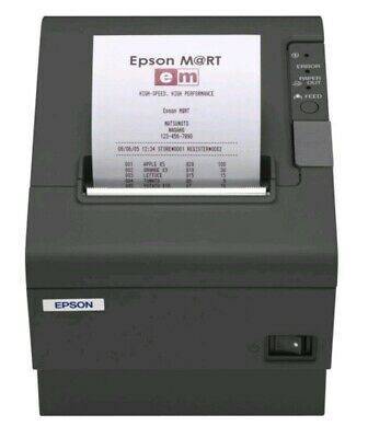 Epson M129H TM-T88IV POS Thermal Receipt Printer with AC Power Adapter
