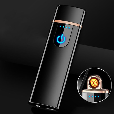 Electric USB cigarette Lighter Touch Screen Sensor Electronic Flameless gift