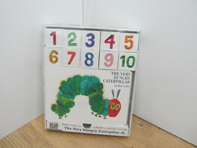The very hungry caterpillar-book/building blocks-orig box-great christmas gift