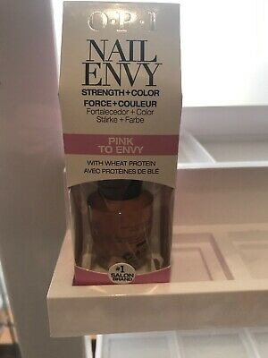 OPI Nail Envy Pink To Envy Nail Strengthener 15ml with Wheat Protein