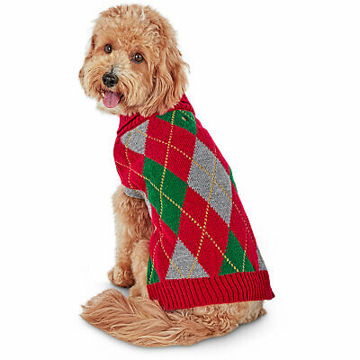 Holiday Tails Mix & Mingle Ugly Christmas Sweater for Dogs, Medium