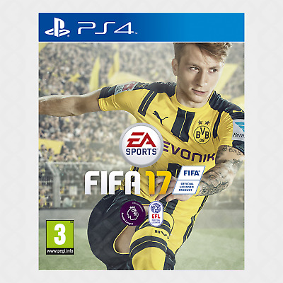 FIFA 17 Standard Edition (PS4) - Brand New & Sealed [FAST]