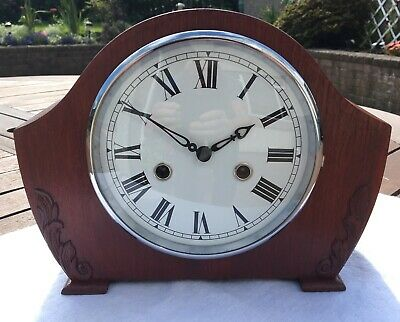 Smiths Enfield 8 Day Striking Mantel Clock