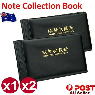 Coin Stock Holder Money & BankNote Album Stock Collection Currency Holder Pocket