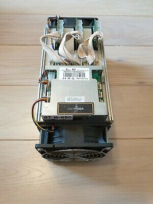 Antminer S7 ASIC Miner 4.73TH/ s Bitcoin Mining Bitmain Refurbished