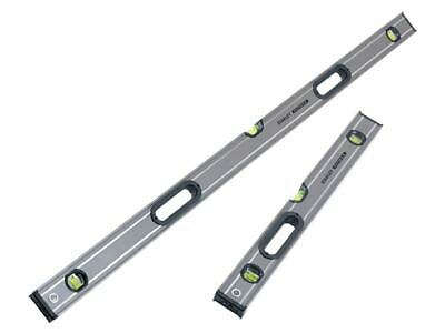 Stanley 120cm 1200mm + 60cm 600mm Fatmax Box Beam Level Twin Pack XMS19LEVTWIN