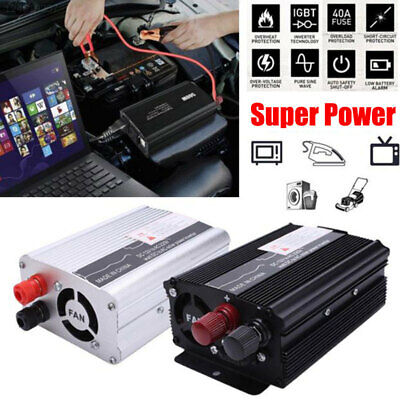AB7B Power 300W 50Hz USB Car DC 12V To AC 220V Inverter Output Stable