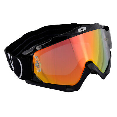 Oxford Assault Pro Motorcycle Goggles - Glossy Black Ox200
