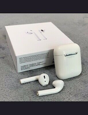 Authentic Apple AirPods 2nd Generation with Charging Case - White