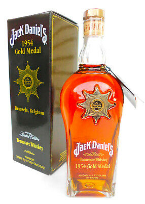 Jack Daniels 1954 Gold Medal Tennessee Whiskey 750ml 45% Box & unregisteredTag!