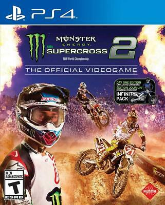 Monster Energy Supercross - The Official Video Game 2 - Day 1 Edition -...
