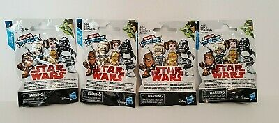 Star Wars Micro Force Mini Figures Blind Bags Series 1 Lot of 4, NEW