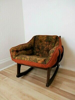 Excellent Unusual American Mid Century Modern Rocking Chair 425 00 Alphanode Cool Chair Designs And Ideas Alphanodeonline