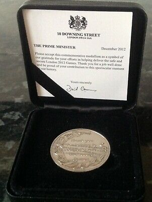 London 2012 Olympic Games Police & Armed Forces Commemorative Medal