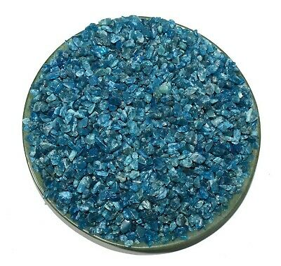 Blue Apatite Natural Raw Rough Granules Reiki Chakra Healing Crystal 2.2 lb 1 kg