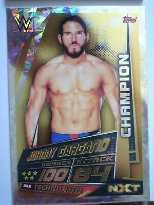 Topps Slam Attax Universe Johnny Gargano Champion Card Comb P&P