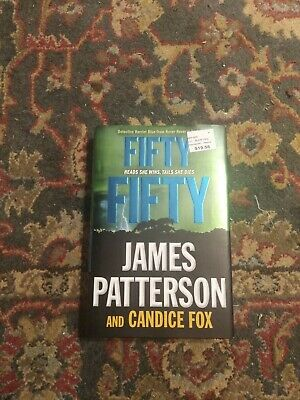 Harriet Blue: Fifty Fifty 2 by James Patterson and Candice Fox (2018, Hardcover)