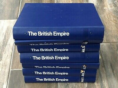 7 VOLUMES - THE BRITISH EMPIRE MAGAZINE IN BINDERS + extras
