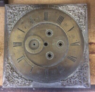 Peter Walker Wild Street End - Long Case Clock Face - restoration project