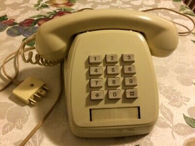 Ivory 807 desk touchphone 1985