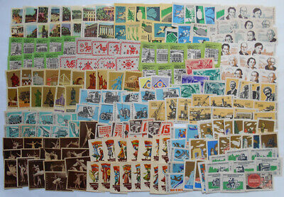 More Than 200 Soviet Matchbox Labels1.