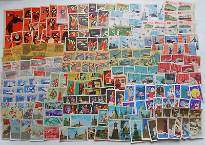 More Than 200 Soviet Matchbox Labels 3.