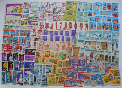 More Than 200 Soviet Matchbox Labels 5.