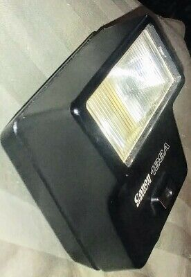 Near Mint Canon Speedlite 188A Shoe Mount Flash Canon A(E)-1 F-1 tested/working.