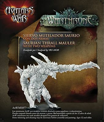 Avatars of War AoW94 Champion of War with Two Weapons Harbinger of Wrath Chaos