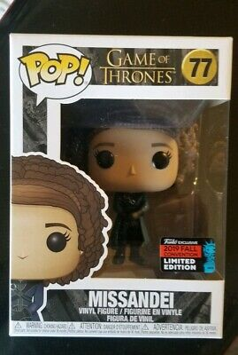 Funko Pop  Game of Thrones #77 - Missandei 2019 NYCC Exclusive MINT