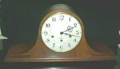 Antique Seth Thomas Mantle Clock. No 124 Pendulum Movement Works - No Key