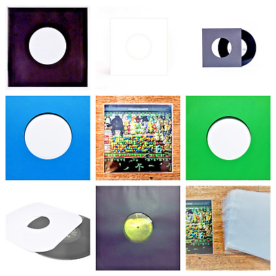 VINYL RECORD SLEEVES (48 pcs.) - RECORD SLEEVES FOR LPs 33RRM EPs 45RPM