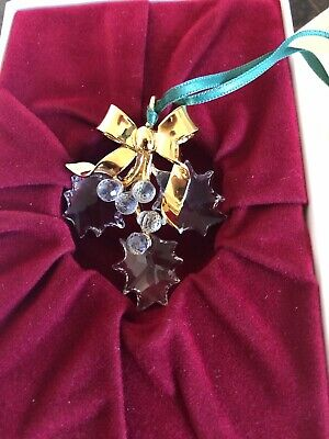 Authentic Swarovski Crystal Christmas Ornament