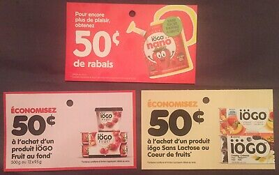 Special Offer 10$ of Mix IOGO Products Coupons Canada
