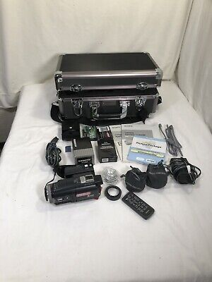 Sony 3CCD DCR-HC1000 Mini Dv Camcorder VCR Player Camera touchscreen Bundle