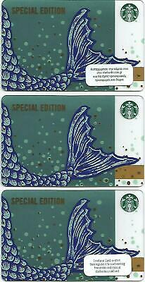 """CYPRUS + GREECE + U.K. Starbucks cards NEW """" SPECIAL EDITION """" 2019 - EXCELLENT"""