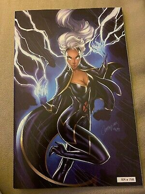 Nycc 2019 Exclusive House Of X #5 J Scott Campbell Glow In The Dark 1024/2500 Nm