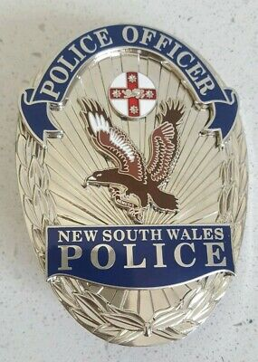 NEW SOUTH WALES USA style metal badge